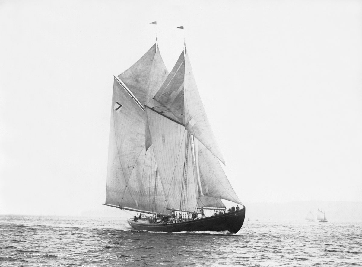 <i>Alcala</i> (Schooner racing 1921) Elimination races
