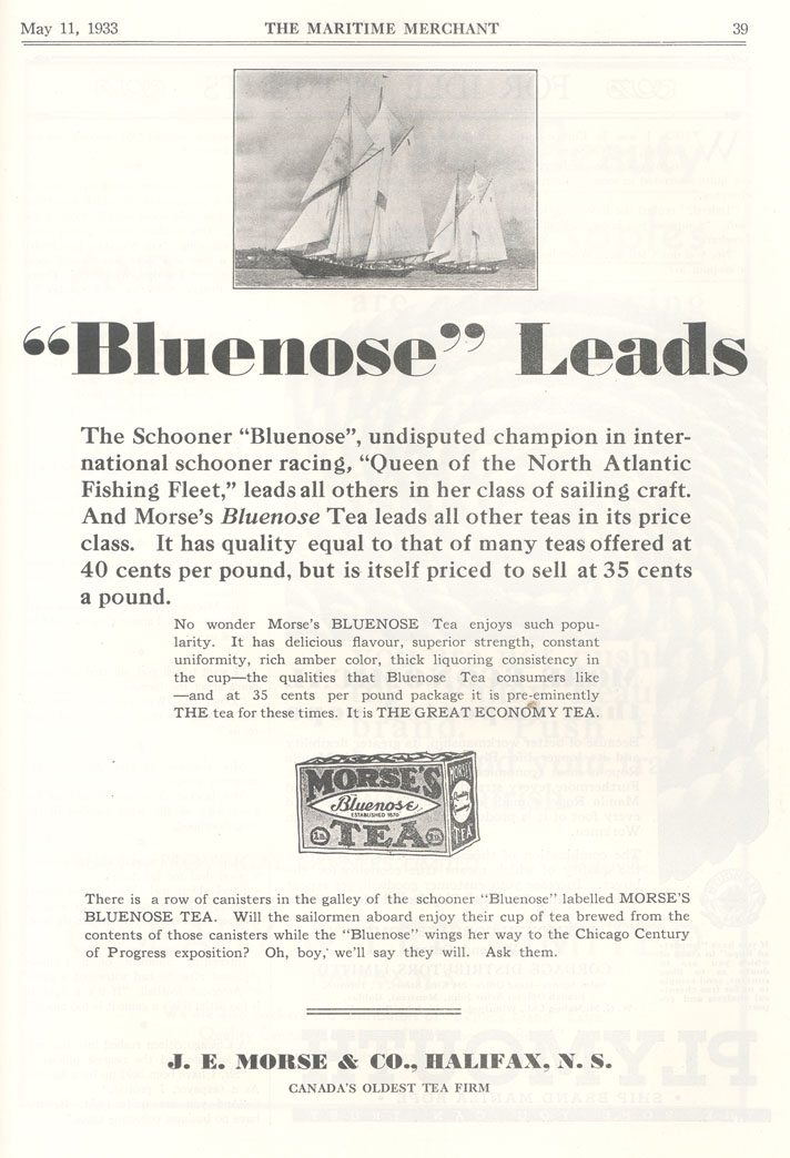 <i>Bluenose</i> Leads