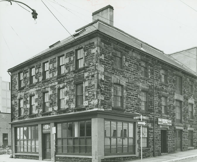 Sperry Gyroscope Company of Canada, 1684 Lower Water Street, Halifax, NS