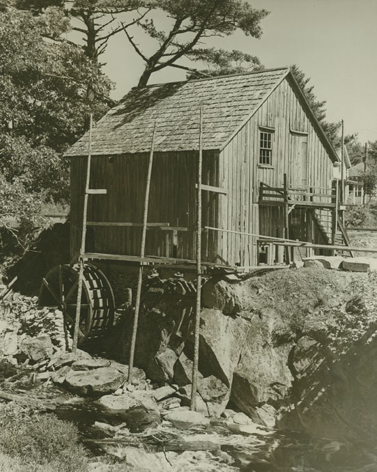 Old Grist Mill, Sable River, Shelburne County