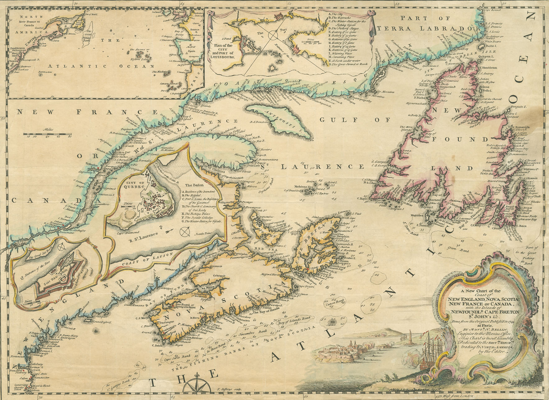 Old New England Map.Nova Scotia Archives Historical Maps Of Nova Scotia