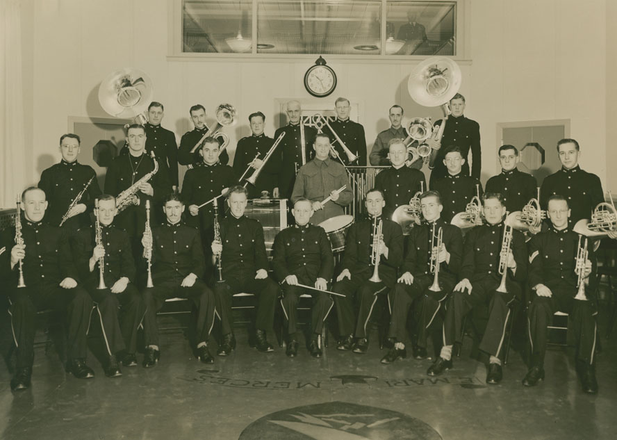 Princess Louise Fusiliers Band in CHNS Studio on Tobin Street