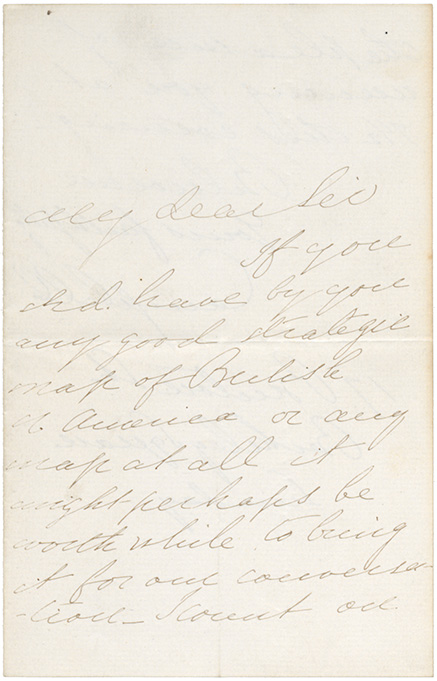 Letter to Joseph Howe from Lord Campbell