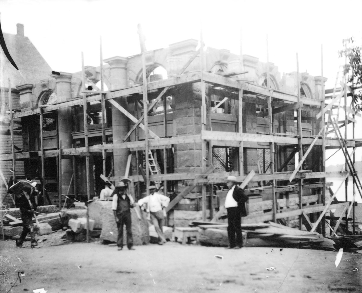 Royal Bank of Canada under construction