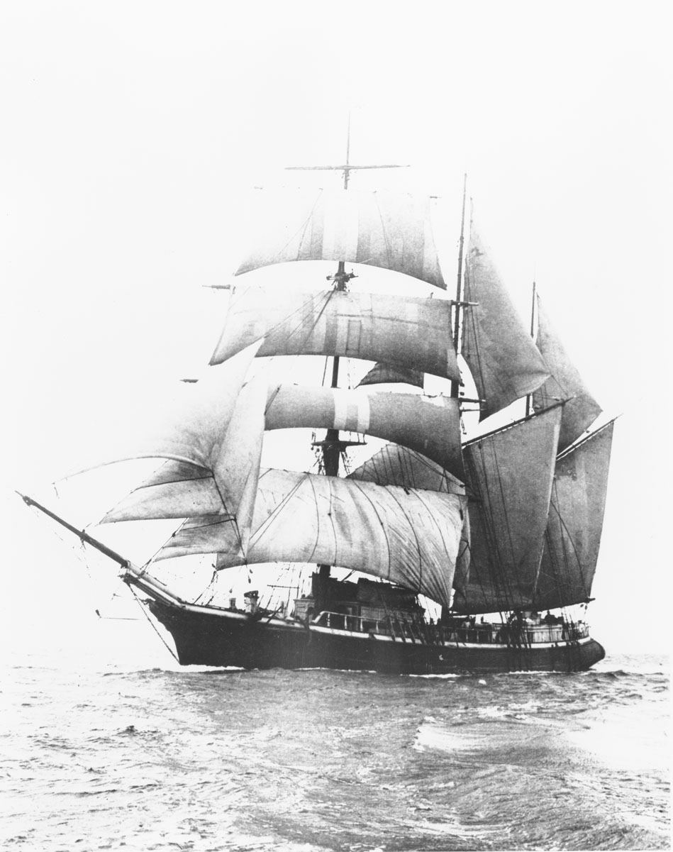 Unidentified barquentine