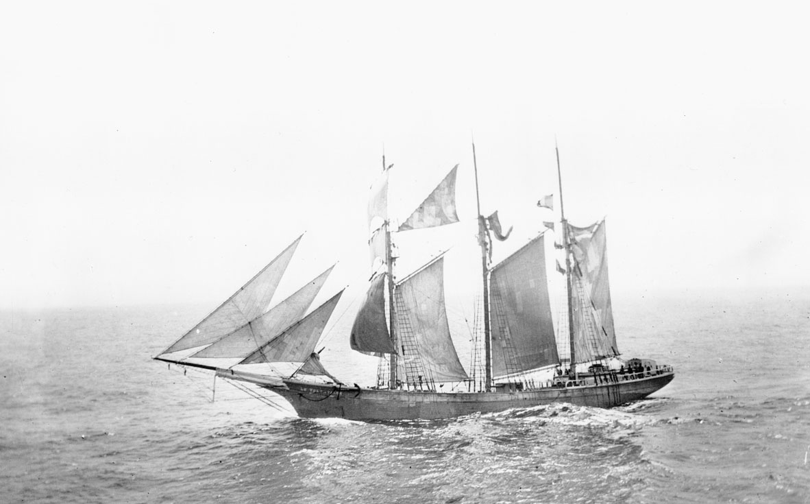 Barquentine <i>Le Volontaire</i>