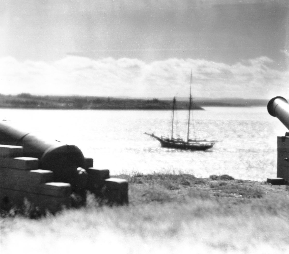 Cannon overlooking Pictou Harbour