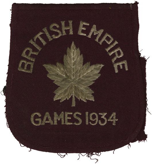 ''Emblem of British Empire Games 1934