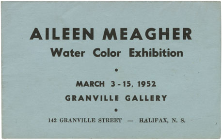 ''Aileen Meagher Water Color Exhibition''