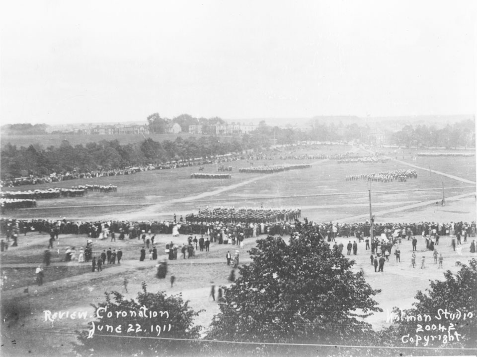 Military Review in Honour of Coronation of King George V and Queen Mary, Commons, Halifax, Nova Scotia