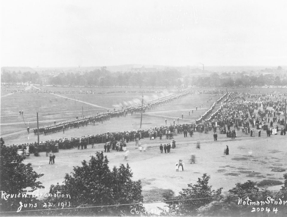Military Review for the Coronation of King George V, Halifax Commons