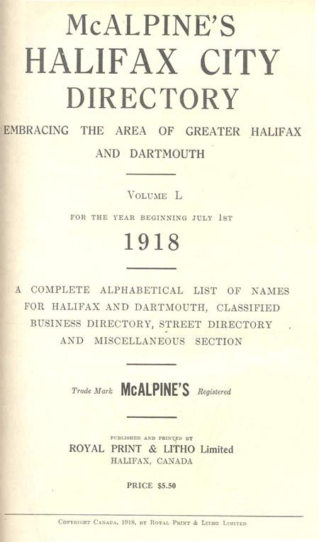 McAlpines Directory