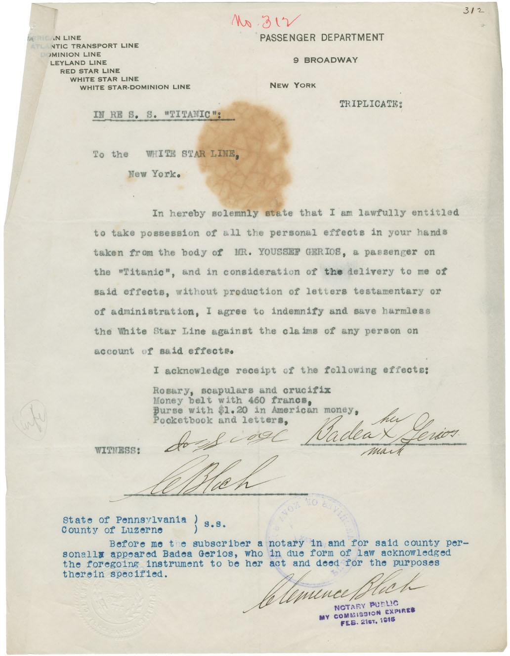 Nova Scotia Archives - RMS Titanic Resource Guide