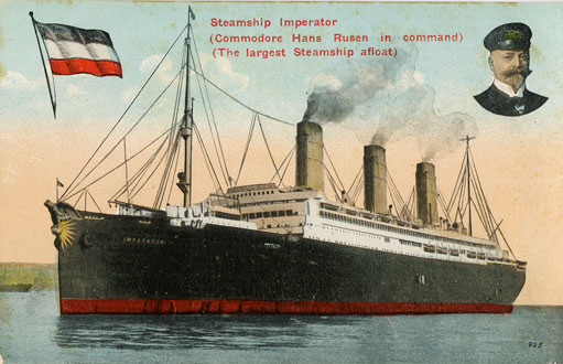 ''Steamship <i>Imperator</i>''