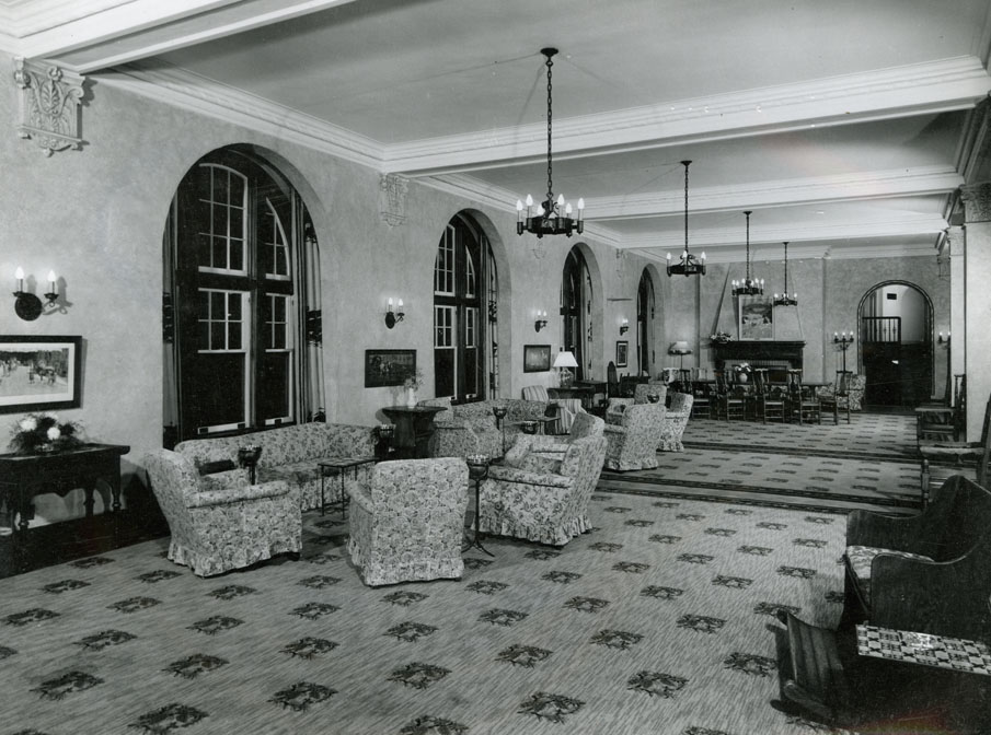 ''Digby Pines Hotel, Digby, NS, Main Lounge''