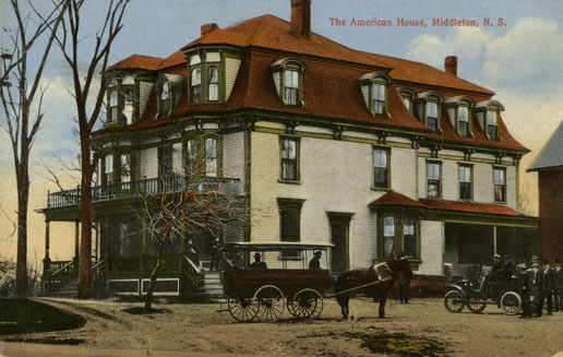 ''The American House, Middleton, NS''