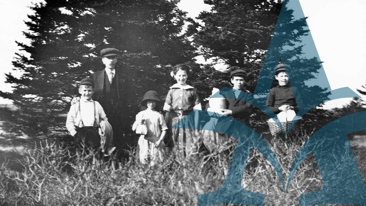 Buckley Family, 1889-1952