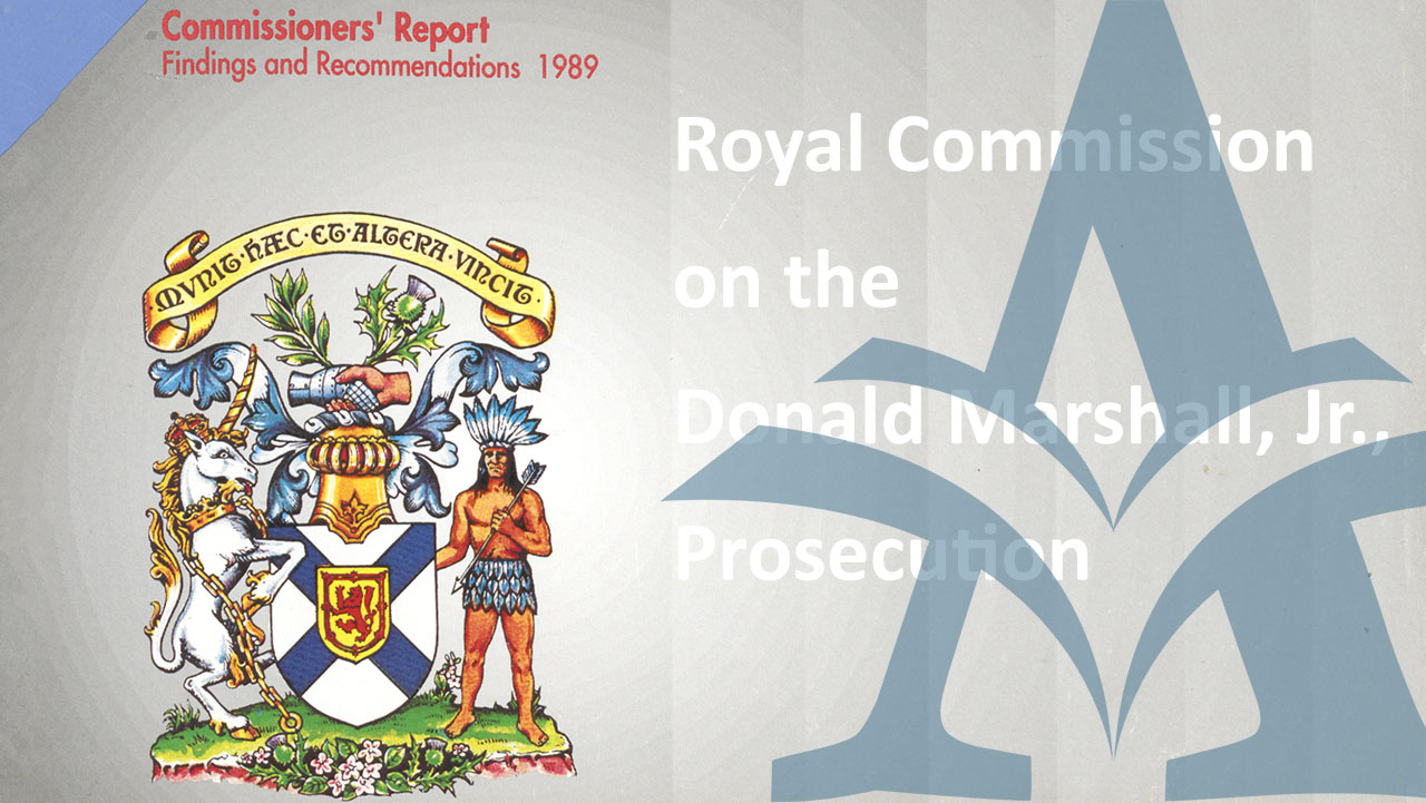 Royal Commission on the Donald Marshall Jr. Prosecution